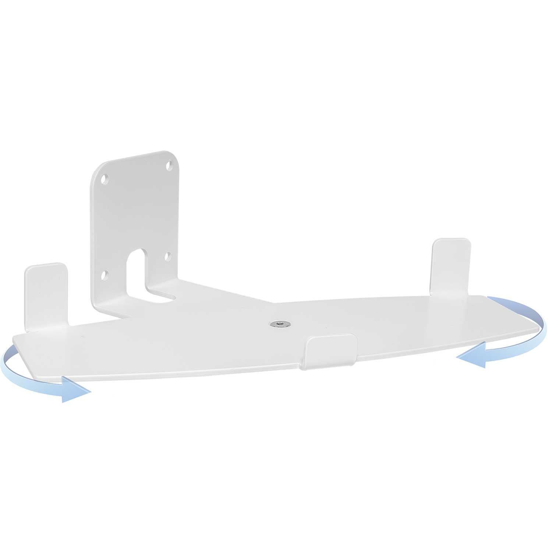 Vebos supporto a muro Bose Soundtouch 20 bianco girevolo - Alta qualità e un'esperienza ottimale in ogni camera - consente di appendere il vostro BOSE SOUNDTOUCH 20 esattamente dove vuoi 8719325089738