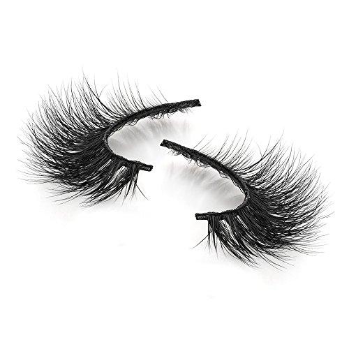 3D Mink False Eyelashes Extensions Long Lashes With Volume for Womens Make Up Handmade Soft Fake Eyelash,1Pair