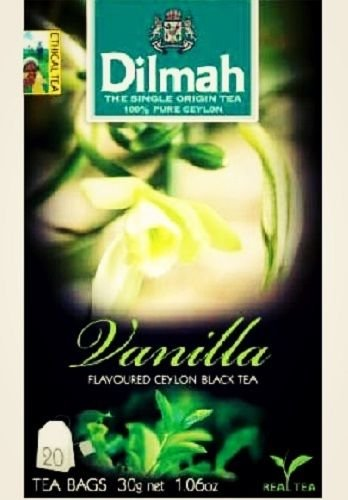 Dilmah, Tea, Single Origin Pure Ceylon Tea (Vanilla, 20 Tea Bags (Pack of 3)