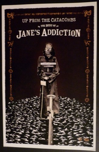 Jane's Addiction - Up From the Catacombs - Rare Advertising Poster 11x17