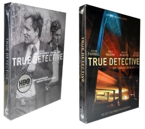 True Detective: Complete Series - Seasons 1 and 2