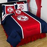 MLB Boston Red Sox - Sports Comforter Set-Queen Boys Baseball Bedding