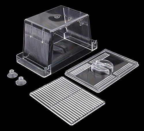 zeroyoyo plastic transparent aquarium accessory fish tank suction cup nursery breeding rearing. Black Bedroom Furniture Sets. Home Design Ideas