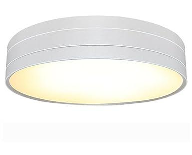 Wohnzimmerlampe Decke Modell : Lvyi deckenleuchte rund weiß modern led für bad veranda