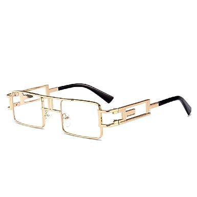 HONGLIPunk métal lunettes de soleil femme Europe et les états-Unis Street beat box lunettes de soleil r4AIA
