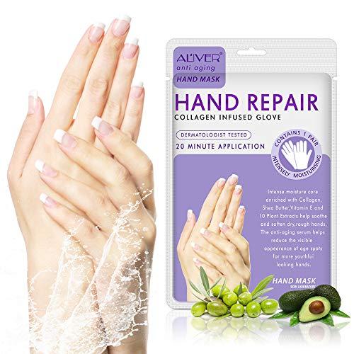 Euone  Christmas Clearance , Exfoliating Moisture White Hand Mask Peeling Remove Hard Dead Skin Mask Makeup