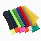 Ucland Cable Power Wire Management Marker Straps Ties, 8Pcs, Colorful