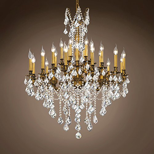 Joshua Marshal 701587-028 - Traditional Versailles 24 Light 36