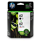 HP 62 Black & Tri-color Original Ink Cartridges: more info