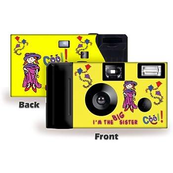 I'm The Big Sister Camera and Photo Album Set -- in LAVENDER