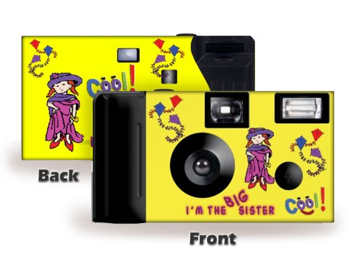 I'm the Big Sister – Single Use Camera – Gift