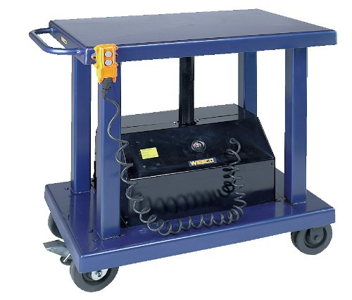 Wesco-Industrial-Products-261106-Powered-Lift-Table-6000-lb-Capacity-36-x-24-Tabletop-59-Height