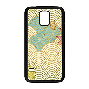 ka ka case unique Individuality Cream Waves Protective Hard PC Snap On Case for Samsung Galaxy S5-2070