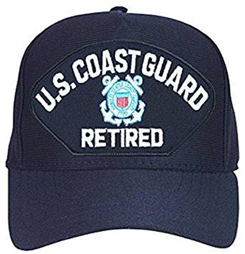 U.S. Coast Guard Retired Hat / USCG Insignia Baseball Cap -