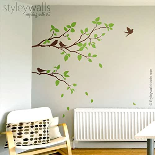 Amazon.com: Two Spring Branches Wall Decal, Branches With