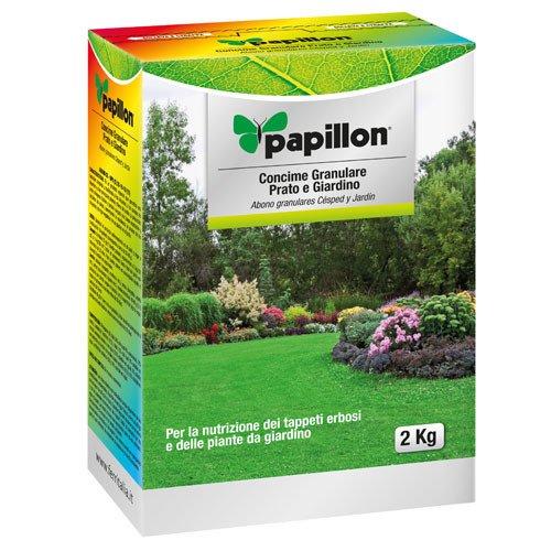 Abono Grano Papillon Cesped / Jardin 2 Kg: Amazon.es: Industria, empresas y ciencia