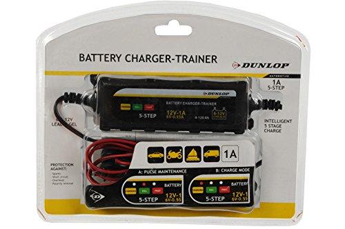 Dunlop battery charger car motorbike car battery charger 6/12 V Trainer: