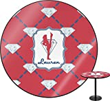 Red Diamond Dancers Round Table - 24'' (Personalized)