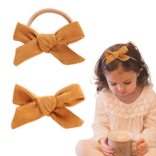 Baby Girl Headbands Nylon Knotted Hairbands Hair Accessories for Newborn Infant Toddler Girls – The Super Cheap