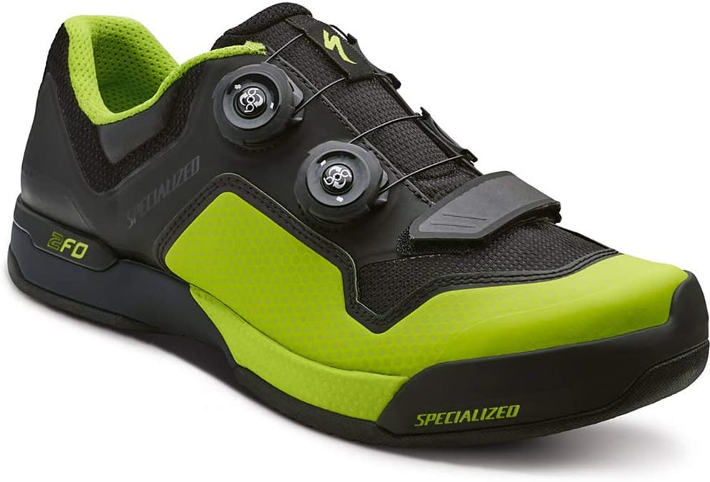SPECIALIZED 2 FO Clip Lite MTB/Dirt bicicleta guantes negro/verde ...