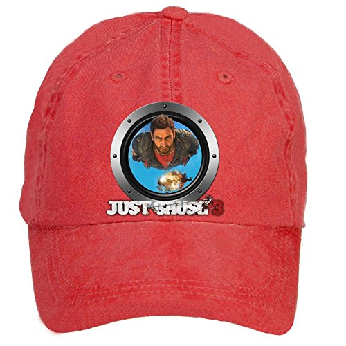 Tommery Unisex Just Cause 3 Icon Hip Hop Baseball Caps