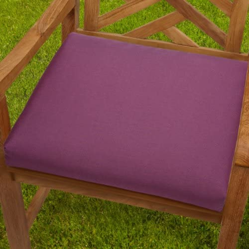 Mozaic AZCS2986 Indoor or Outdoor Sunbrella Square Chair Seat Cushions Set
