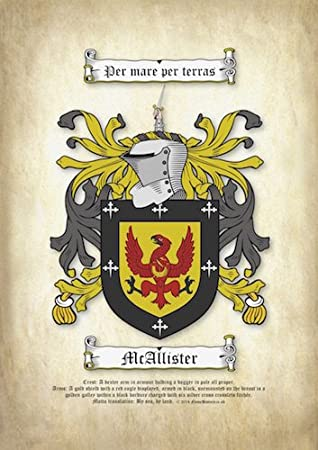 """HERITAGE COAT OF ARMS WITH SURNAME HISTORY PRINT 10/"""" x 8/"""" /& FREE A4 NAME HISTORY"""