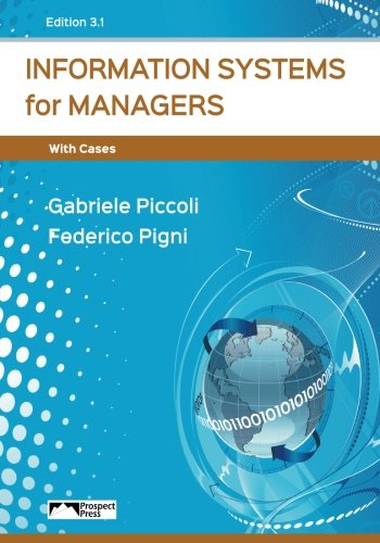 Information Systems For Managers With Cases  Edition 3 0