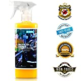 Goclean Waterless Carwash – Quick Detailer Spray Wax for Car Cleaning, Shining, & Protecting – Non-Toxic, Plant-Based, Silicone-Free, Fully Waterless Car Wash Formula – Rinseless Detailing Spray
