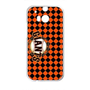 Red Black Grid Giants Bestselling Hot Seller High Quality Case Cove Hard Case For HTC M8 by icecream design