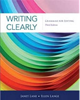 Amazon resources for writers with readings 4th edition writing clearly grammar for editing 3rd edition fandeluxe Choice Image