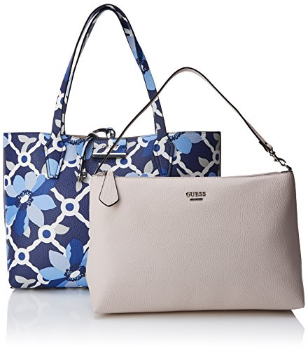 Floralstone Sac Femme Guess RF642215 Blue Shopper Multicolore YqfOw4