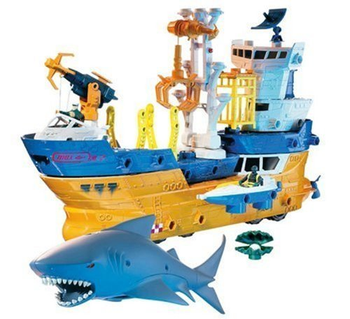 Toy / Game Mattel Matchbox Mega Rig Shark Adventure - You Can Connect And Combine Your Mega Pieces