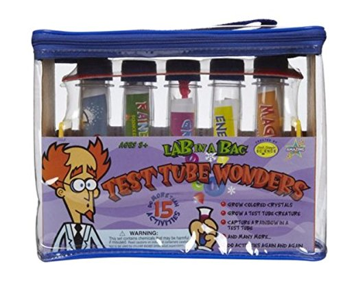 Be Amazing Toys Lab-in-a-Bag Test Tube Wonders (Pack of 2)