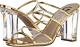 G by GUESS Women's Brayla Clear/Oro 8.5 M US