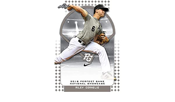 10-Count Lot Riley Cornelio 2018 Leaf Perfect Game NIKE All ...