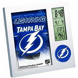 NHL Tampa Bay Lightning Digital Desk Clock