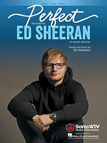 Ed Sheeran - Perfect - Piano/Vocal/Guitar Sheet Music Single (Single Sheet Music)