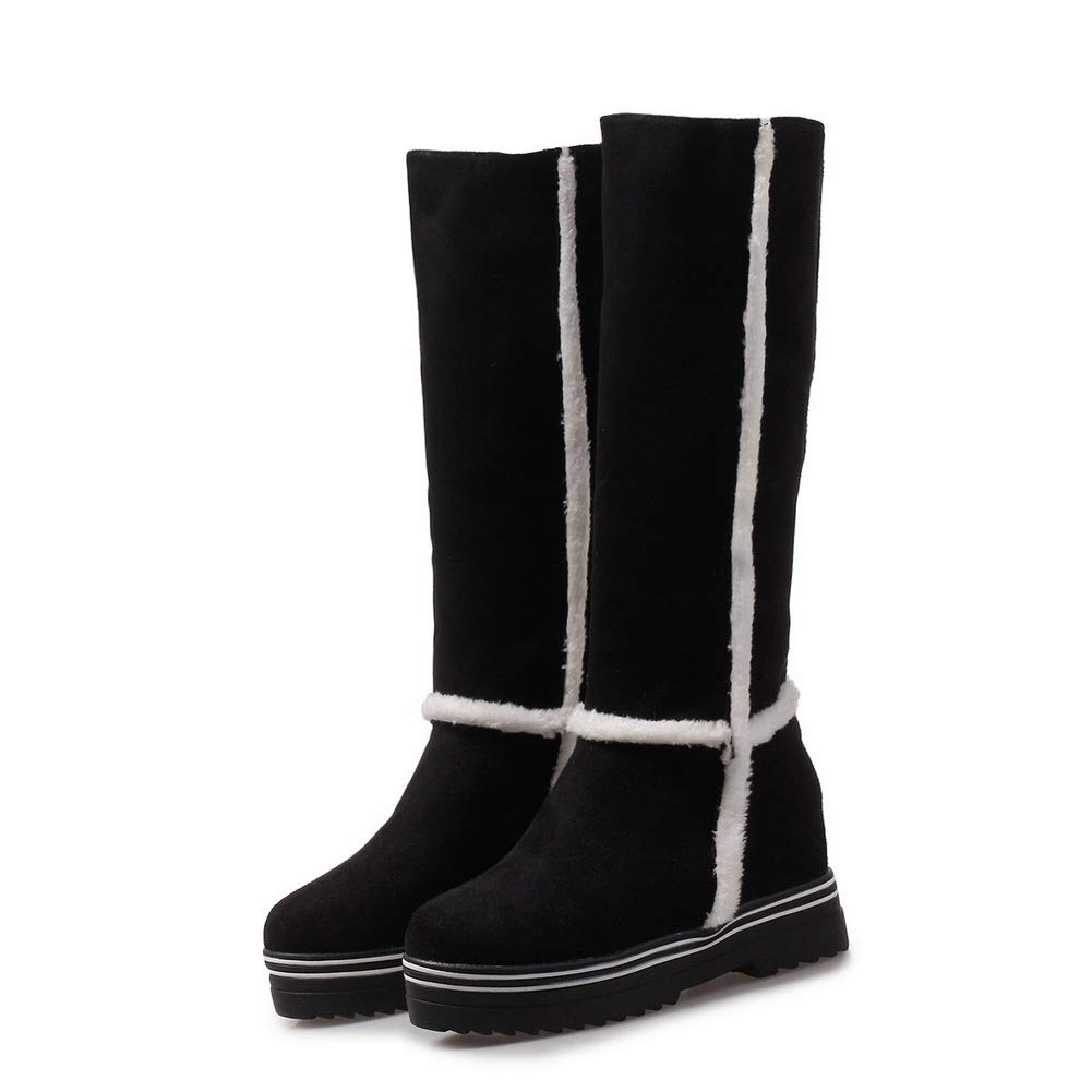 1TO9 Womens Fringed Assorted Colors Frayed-Seams Leather Boots MNS02993