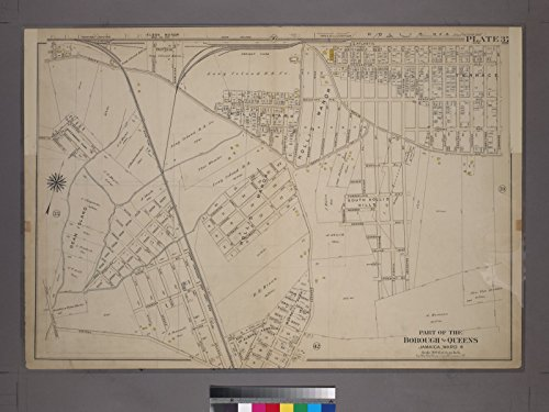 Map Poster - Plate 37: Bounded by Atlantic Avenue, Cummings Street, Hollis Avenue, (South Hollis Hills) South Street, Farmers Avenue, 11
