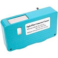 FiberShack - FTTH Fiber Optic Cleaning Box - Single and Multi mode Optical Connectors - 500+ use Fiber Tape.