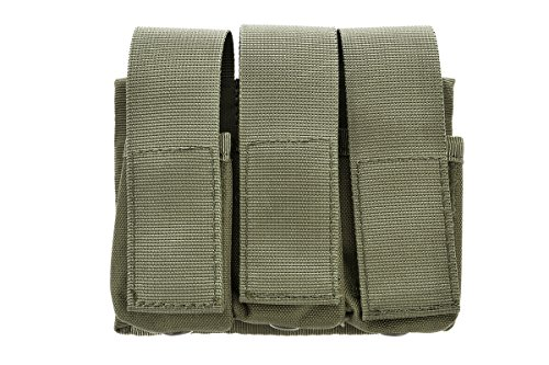 Lancer Tactical Triple Molle M203 Grenade Pouch (OD Green) ()