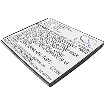 Amazon.com: Replacement Battery for Lenovo A8, A806, A808T ...