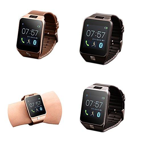 fenguh Plata R5 Bluetooth 4.0 Reloj Inteligente Smartwatch Llamar Gratis Mensaje Reloj Teléfono Inteligente Pasómetro para iPhone htc samsung huawei Andriod ...