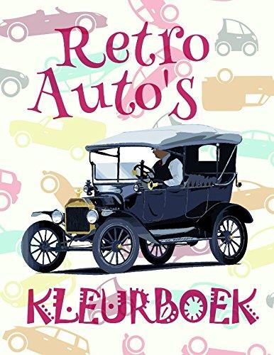 Kleurboek Retro Auto