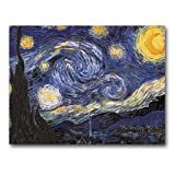 The Starry Night – Box Set of 12 Greeting Cards and Patterned Envelopes, Health Care Stuffs