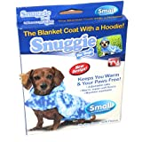 Snuggie® for Dogs Blanket Coat with a Hoodie in Tie Dye SIZE SMALL (Dogs 8 – 15 LBS), My Pet Supplies