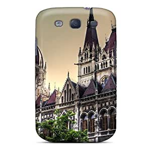 Awesome Case Cover/galaxy S3 Defender Case Cover(parliament Building In Budapest Hungary) by supermalls