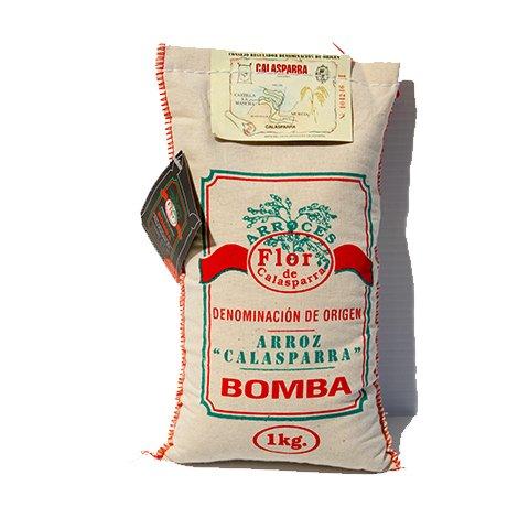 Flor De Calasparra Bomba Paella Rice,1 (Paella Rice Dish)