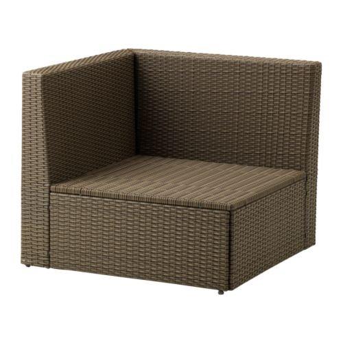IKEA ARHOLMA - sección Corner, marrón: Amazon.es: Jardín